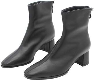 Goodnight Macaroon 'Gabriele' Faux Leather Heeled Ankle Boots (2 Colors)