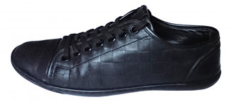 Louis Vuitton Match Up Black Leather Trainers