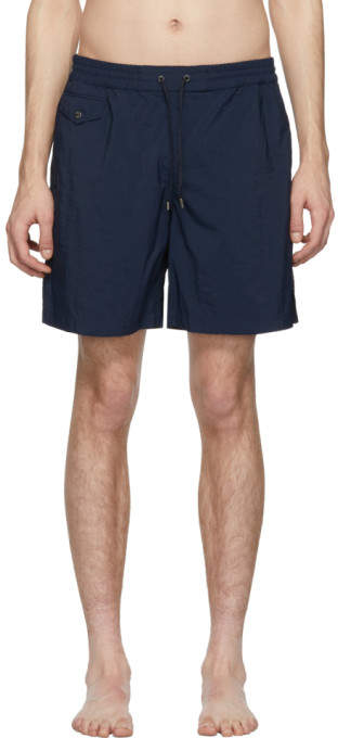 Brioni Blue 17 Swim Shorts