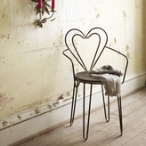 Graham and Green Heart Back Chair