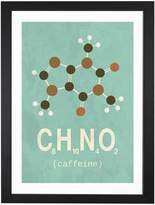 iCanvas Caffeine by TypeLike (Framed)