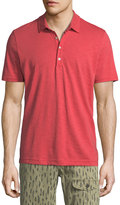Michael Bastian Short-Sleeve Cotton Slub Polo Shirt