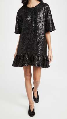 Essentiel Antwerp Zonderling Sequin Dress