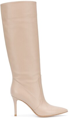 Gianvito Rossi Pointed Knee-High Boots