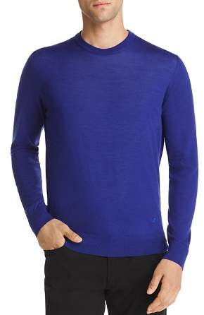 Emporio Armani Solid Crewneck Sweater
