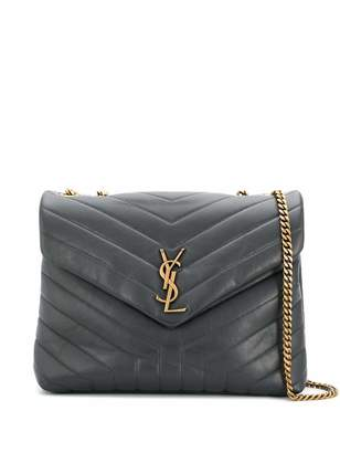 Saint Laurent Medium Quilted Lou Lou Shoulder Bag