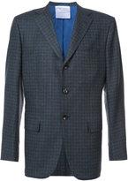 Kiton checked blazer - men - Cashmere - 50