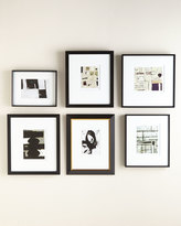 Horchow Black & White Abstract Wall Gallery