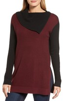 Vince Camuto Petite Women's Colorblock Sweater