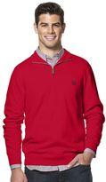 Chaps Men's Classic-Fit Cashmere-Blend Quarter-Zip Sweater