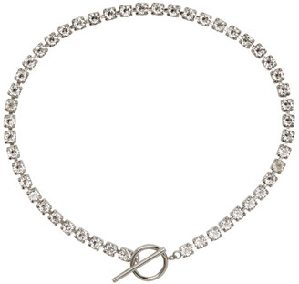 Isabel Marant Silver Crystal Necklace