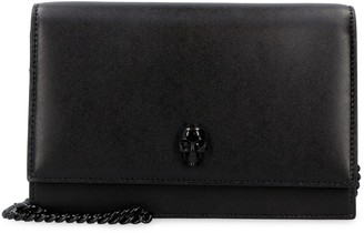 Alexander McQueen Leather Clutch With Strap