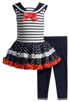 Sweet Heart Rose Sweetheart Rose Two-Piece Party Dress and Leggings Set