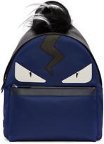 Fendi Blue Monster Backpack