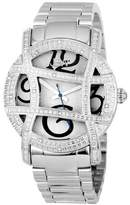 JBW Women's Olympia Japanese Movement Stainless Steel Real Diamond Watch