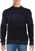 HUGO BOSS Patterned Knit Sweater