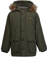 Lyle & Scott Boys' Micro Fleece Lined Jacket, Olive Green