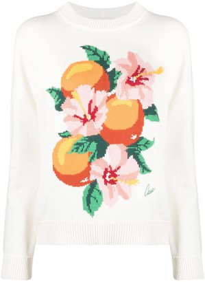 Casablanca Kapalia Oranges jumper