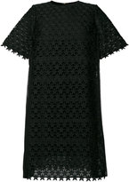 Muveil embroidered flared dress
