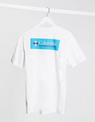 Columbia North cascades logo t-shirt in white