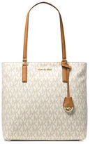 MICHAEL Michael Kors Morgan Faux Leather Monogram Tote
