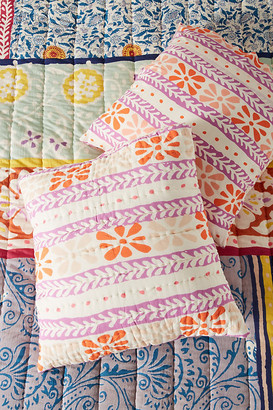 Anthropologie Ankara Euro Sham By Artisan Quilts by in Assorted Size EURO SHAM