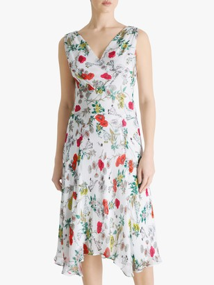 Fenn Wright Manson Lisette Meadow Print Sleeveless Dress, Multi