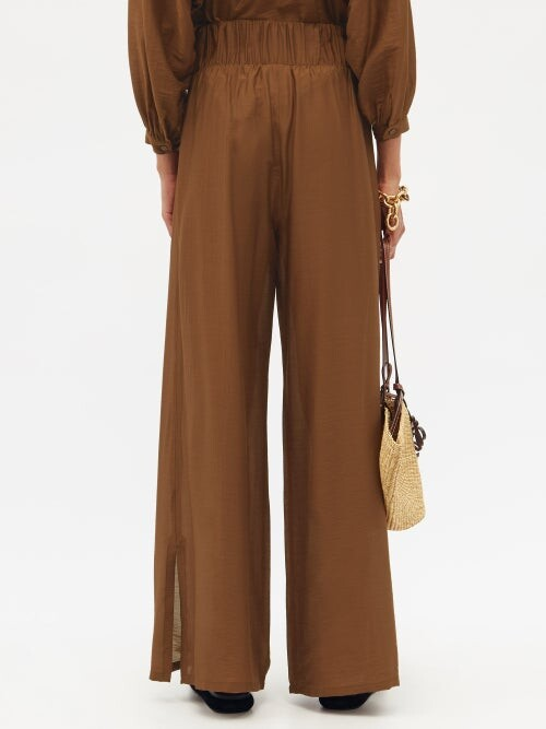 Thumbnail for your product : MAX MARA BEACHWEAR Greenh Trousers - Brown
