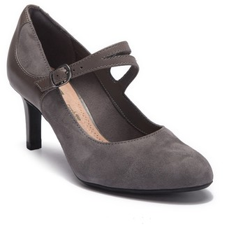 Clarks Dancer Reece Mary Jane Leather & Suede Pump