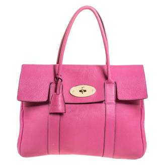 Mulberry Bayswater Pink Leather Handbags