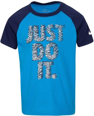 """Nike Boys 4-7 Just Do It"""" Graphic Tee"""