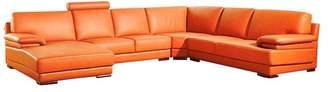 Vig Furniture Divani Casa 2227 Modern Leather Sectional Sofa