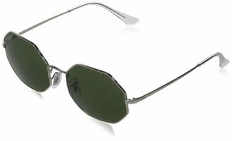 Ray-Ban RB1972 Octagon Metal Sunglasses Non Polarized Round