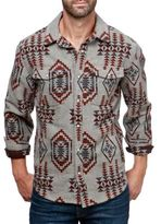 Lucky Brand Boulder Creek Cotton Button-Down Shirt