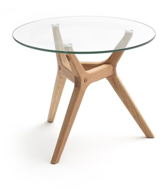 Am.pm. Maricielo Oak & Glass Coffee Table