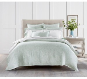 Charter Club Sleep Luxe Cotton 800-Thread Count 3-Pc. Printed Aloe Scroll Twin Comforter Set, Created For Macy's Bedding
