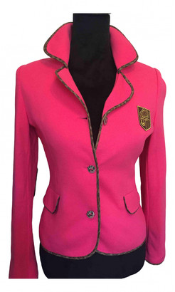 Christian Dior Pink Cotton Jacket for Women