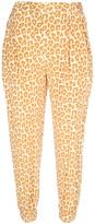 leopard print trouser