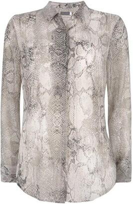 Mint Velvet Sacha Snake Print Shirt