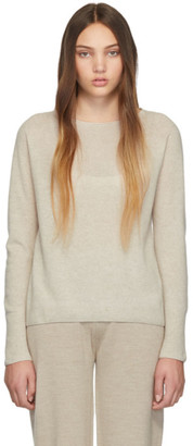 Max Mara Leisure Beige Cashmere Sweater