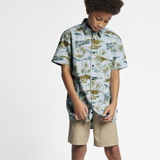 Nike Boys' Top Hurley Outrigger Smiley