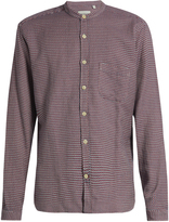 Oliver Spencer Granddad-collar cotton shirt