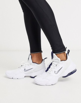 Nike Training Air Max Alpha Savage sneakers in white