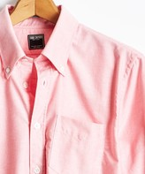 Todd Snyder Solid Oxford Shirt in Red