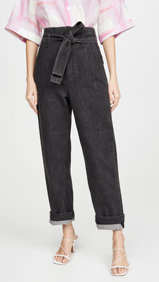 Rag & Bone Super High Rise Darted Jeans