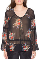 Willow & Clay Floral Print Blouse
