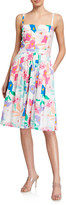 Milly Bo Les Fleurs Cotton Poplin Dress