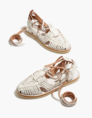 Madewell Chamula Sayulita Ankle-Wrap Sandals