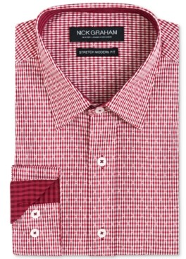 Nick Graham Men's Dobby Gingham Shirt