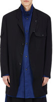 Yohji Yamamoto Men's Wool Oversized Three-Button Sportcoat